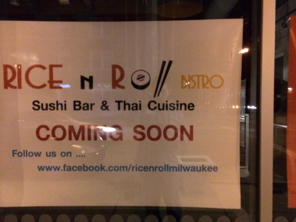 Coming Soon: Rice N' Roll