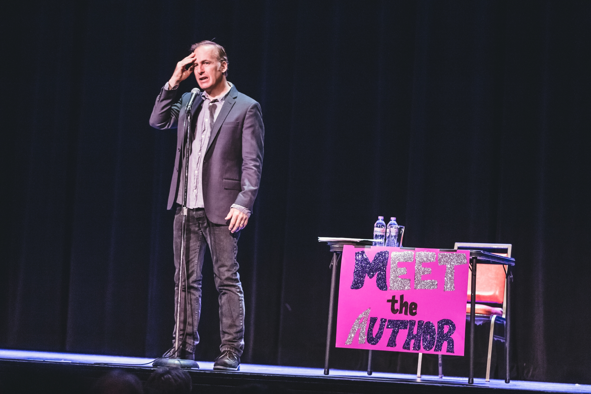 Bob Odenkirk at the Pabst Theater. Photo by Sara Bill.