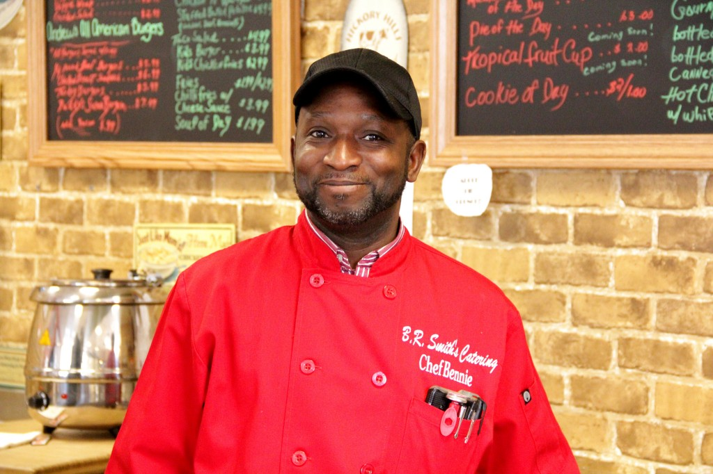 Bennie Smith, co-owner of Daddy's Soul Food & Grille, is optimistic about the SOHI District. (Photo by Molly Rippinger)