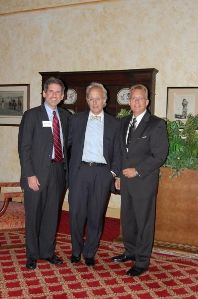 Photo Caption: (l-r) David Fantle, Milwaukee/NARI Executive Director, Barry Mandel, Mandel Group, Inc., and David Pekel, MCR, UDCP, CAPS, Milwaukee/NARI President.