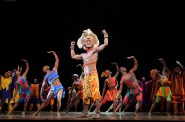 "Jelani Remy as ""Simba"" and the ensemble in ""He Lives in You"" from THE LION KING National Tour. ©Disney. Photo Credit: Joan Marcus."
