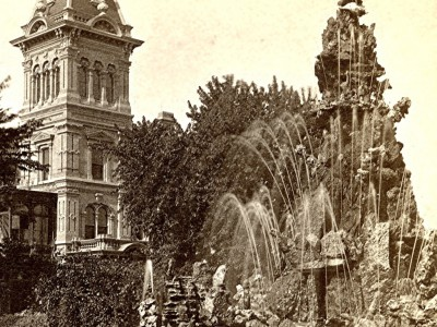 Yesterday's Milwaukee: Mitchell Mansion's Classic Fountain, 1880