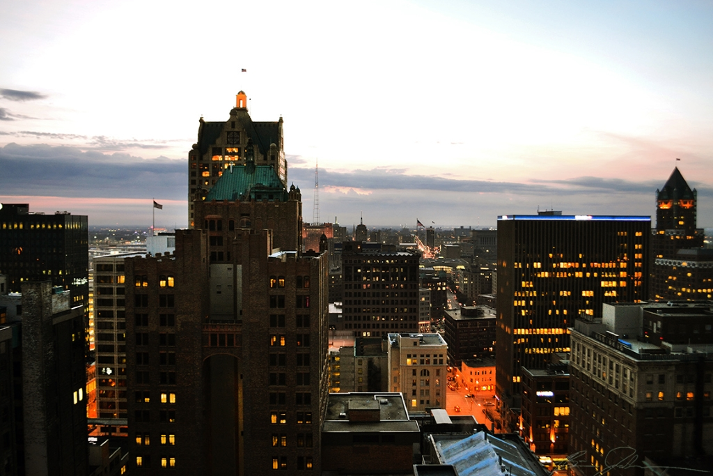 View from the Pfister Hotel. Photo by Brian Jacobson.