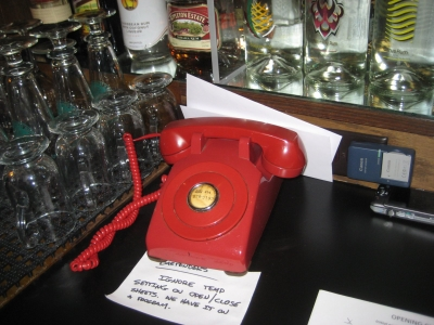 The Red Phone. Photo by Michael Horne.