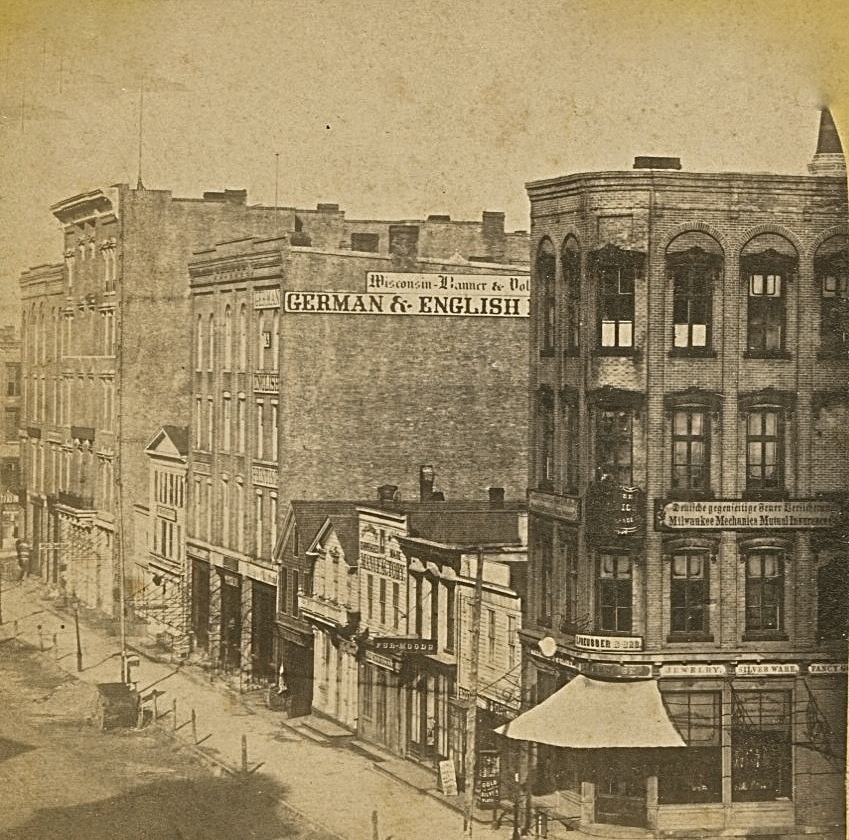 Market Square, 1860s