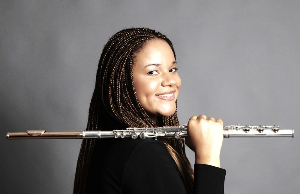 Sonora Slocum, Principal flutist, Milwaukee Symphony Orchestra