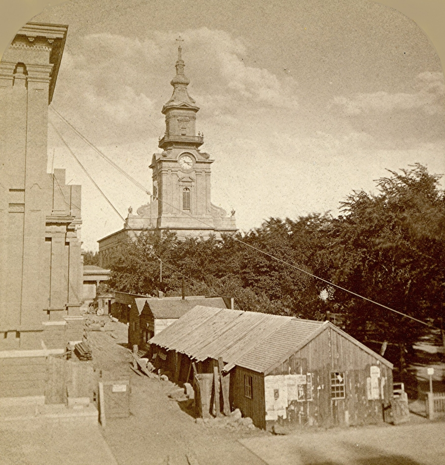 The Second Courthouse, 1870s. Photo courtesy of Jeff Beutner.
