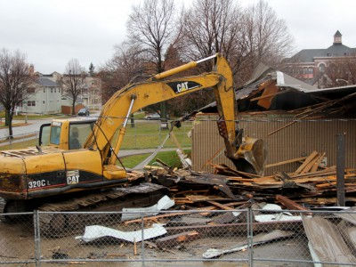 Renovation Razes Johnsons Park Pavilion