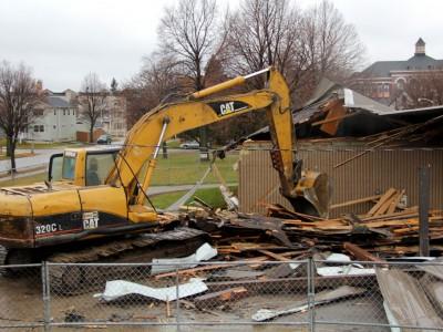 Renovation Razes Johnsons Park Pavilion
