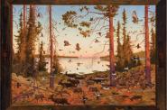 WIDIGENDAA (978), Oil on Linen, 43 x 59″