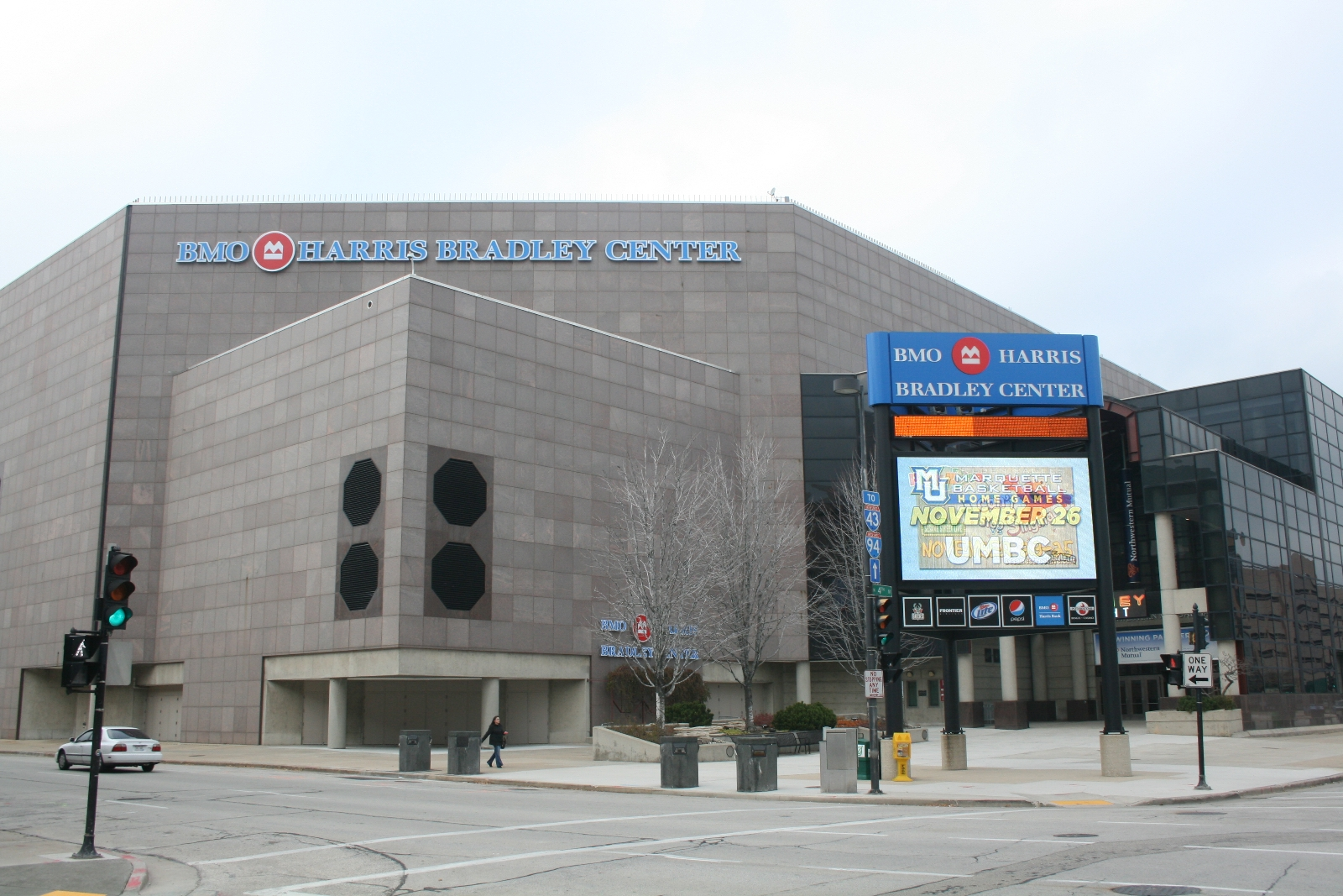 BMO Harris Bradley Center in 2014. Photo by Jeramey Jannene.