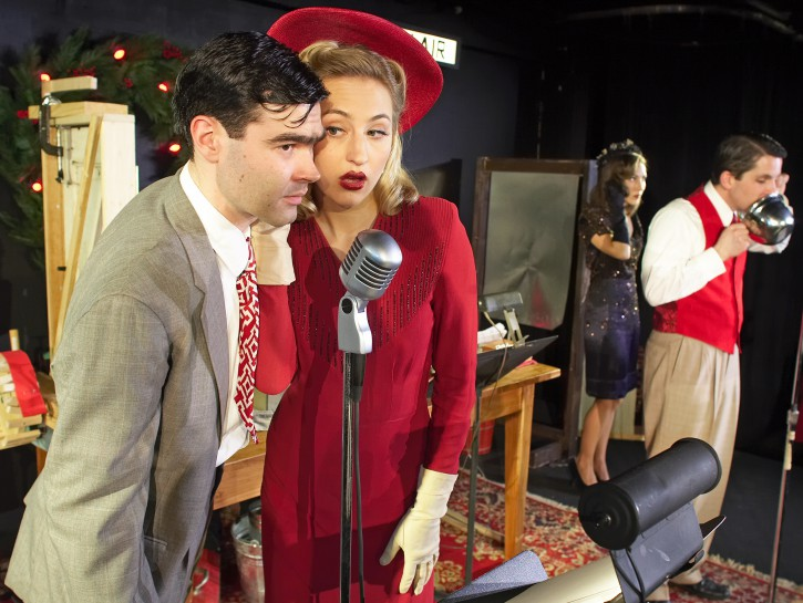 Theater: George Bailey With Eggplant