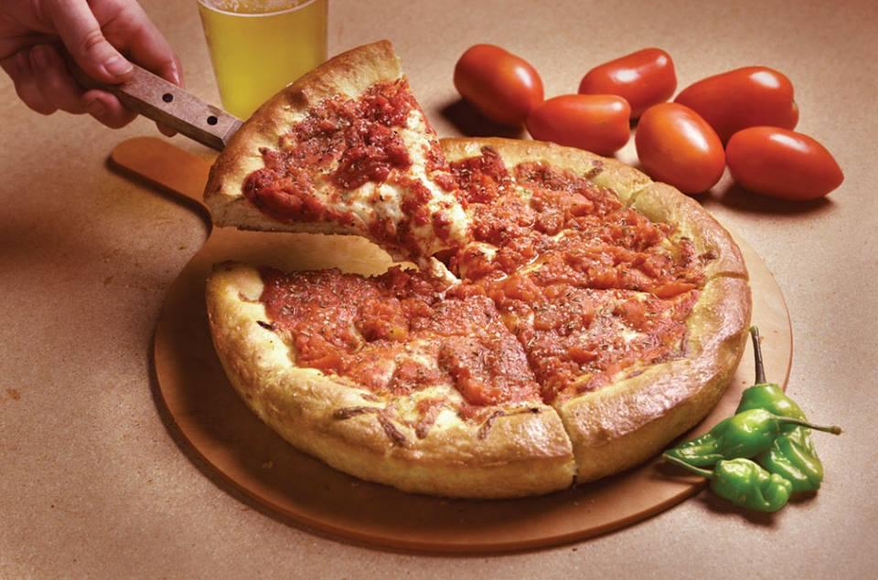 Rosati's Pizza. Photo from facebook.