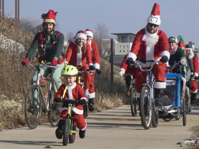 Bike Czar: Santa Cycle Rampage Goes National