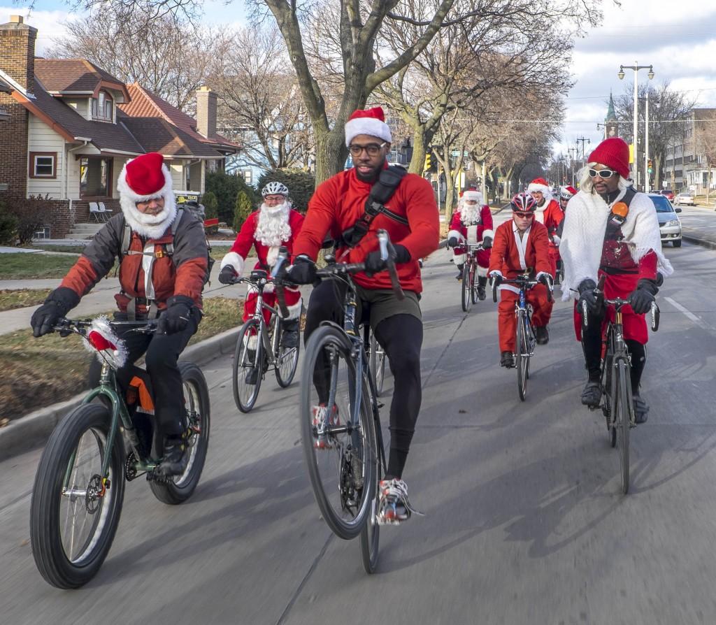 Ho, Ho, Ho, Santa has mad skills!