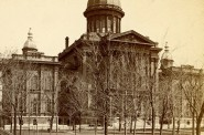Milwaukee County Courthouse, 1870s. Photo courtesy of Jeff Beutner.