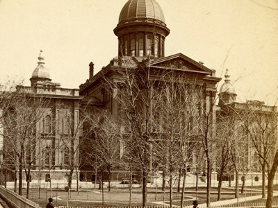 Yesterday's Milwaukee: County Courthouse, Early 1870s