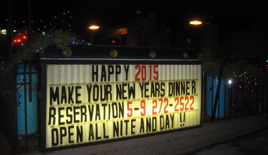 Does The Van Buren Have A Bar Restaurant