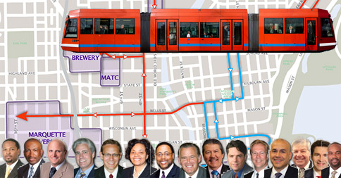 Community meeting about streetcar project next Tuesday