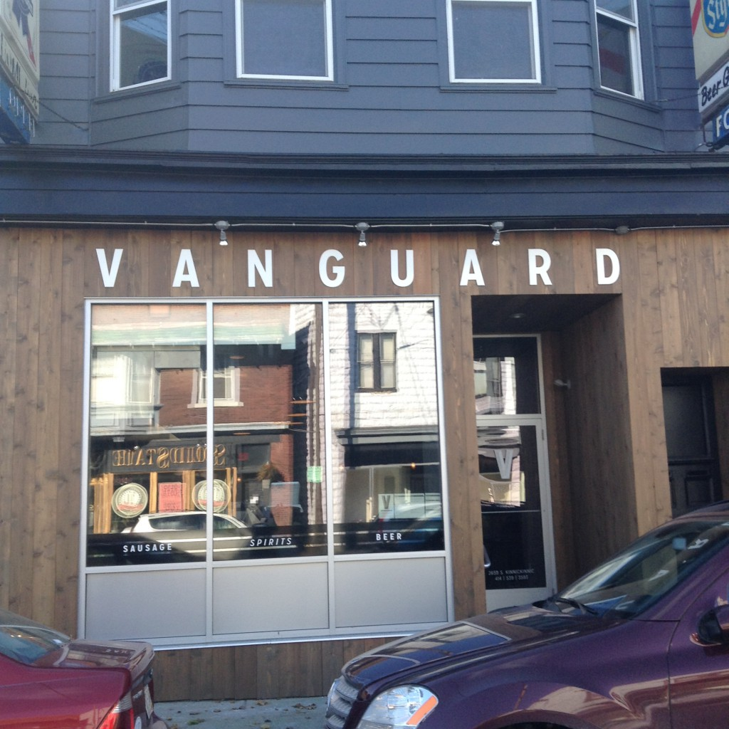 Vanguard. Photo by Cari Taylor-Carlson.