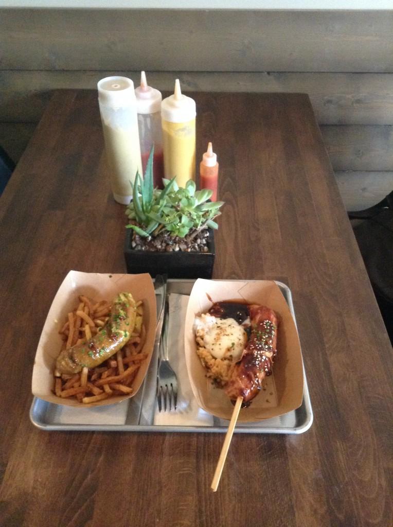 Lunch. Photo by Cari Taylor-Carlson.