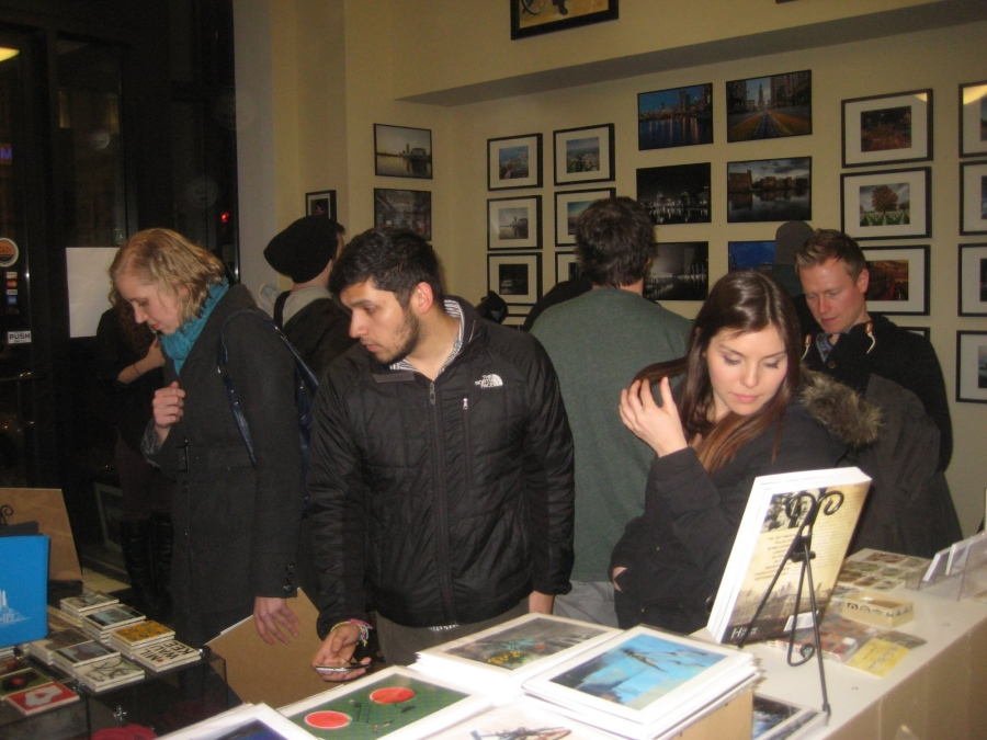 Gallery Nighters at Urban Milwaukee: The Store. Photo by Michael Horne.