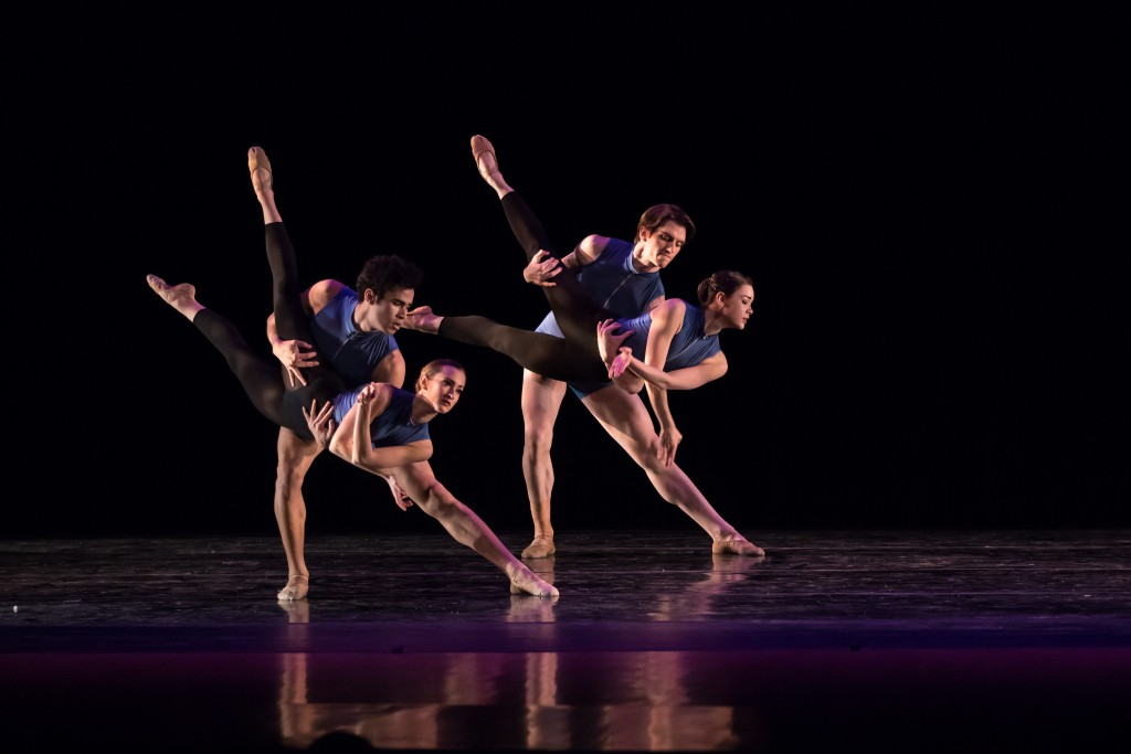 Milwaukee Ballet II at South Milwaukee PAC. Photo by Alex Clark.