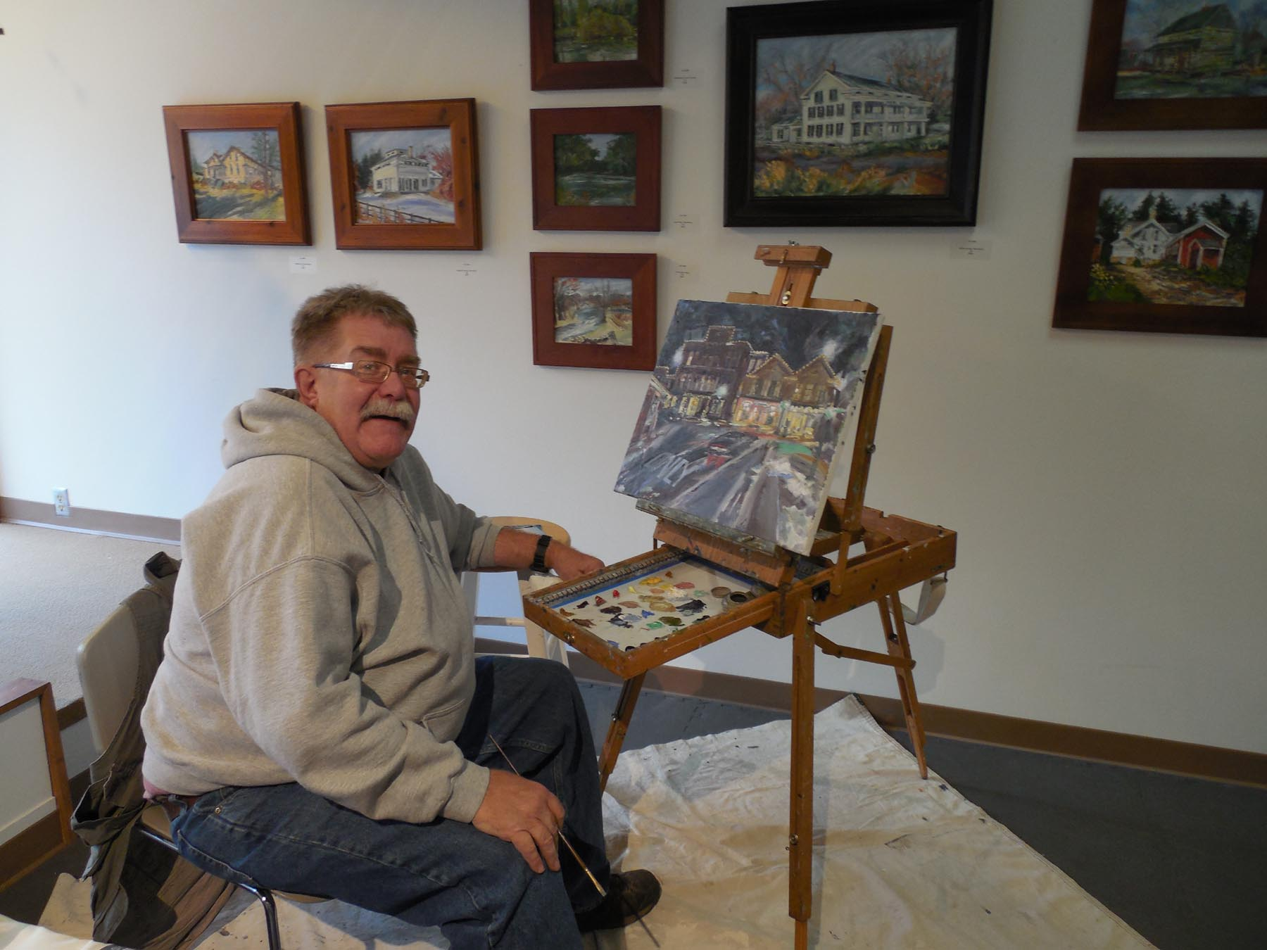 Paint Your Art Out February 7 at the CCC