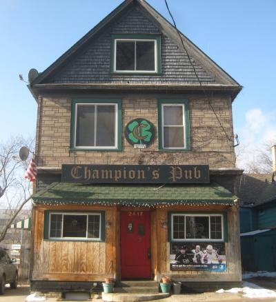 Champion's Pub. Photo by Michael Horne.