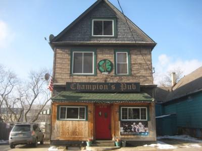 Bar Exam: Champion's Pub, a Place for Conversation