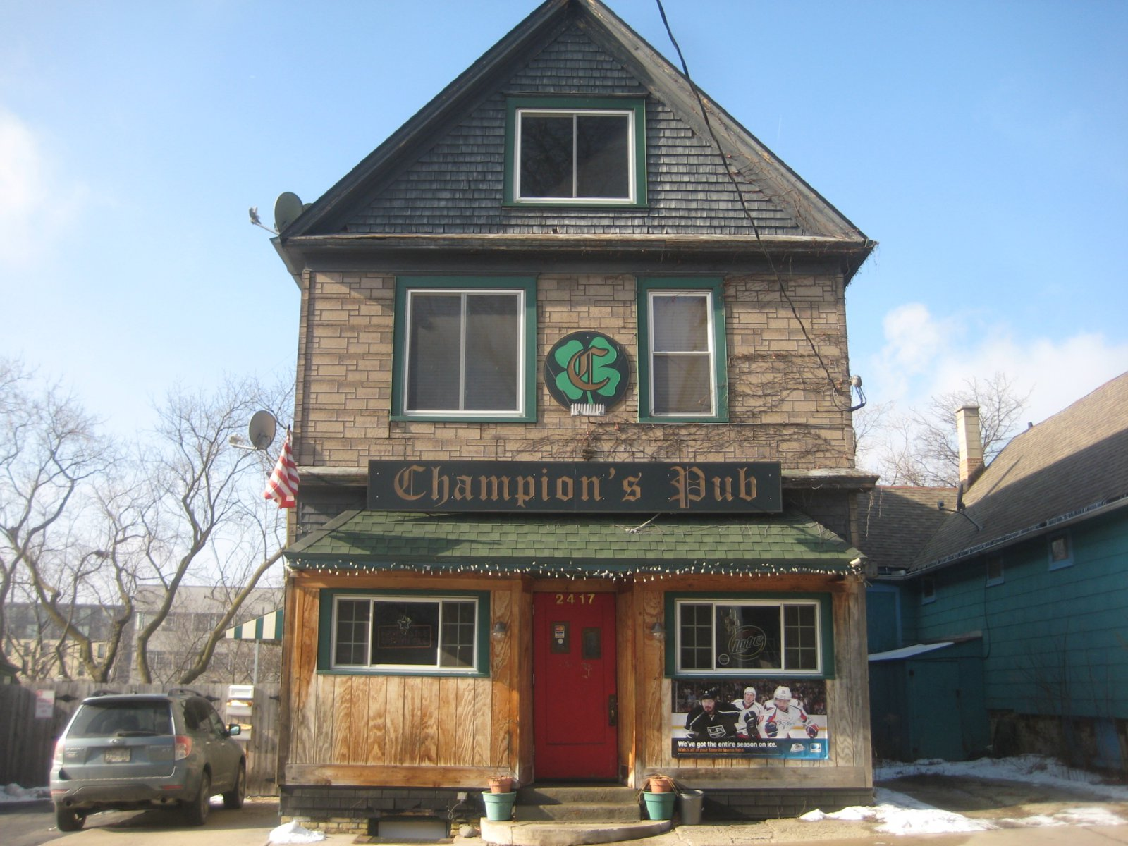 Champion's Pub. Photo by Michael Horne.