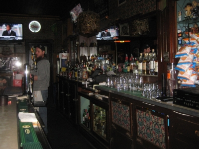 The bar at Champion's Pub. Photo by Michael Horne.