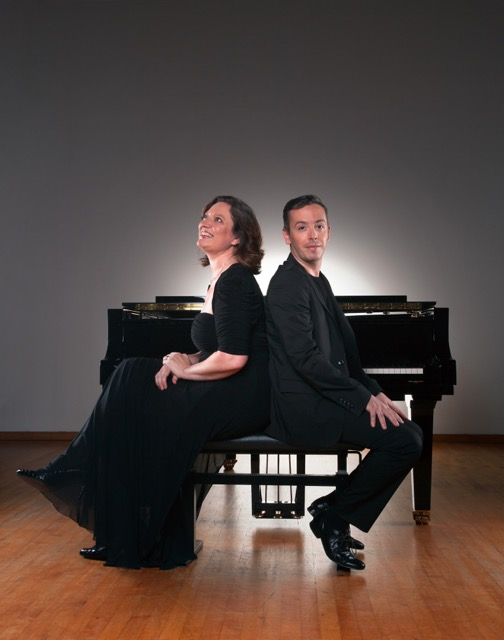 Luis Magalhaes and Nina Schumann, the TwoPianist piano duo
