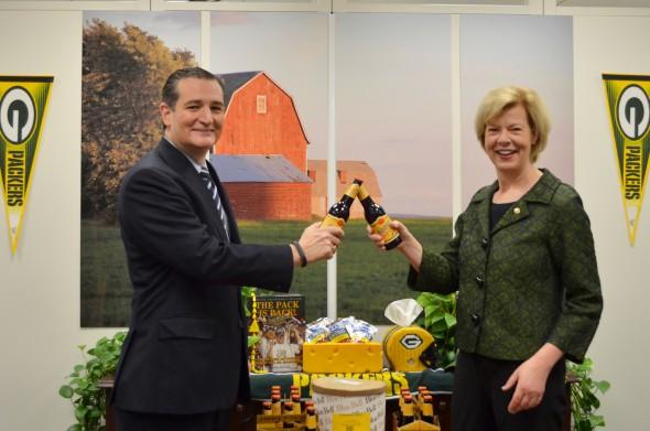 Senators Ted Cruz and Tammy Baldwin