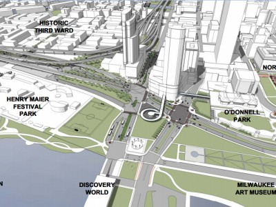 Public meeting for I-794 Lakefront Gateway Project in Milwaukee County