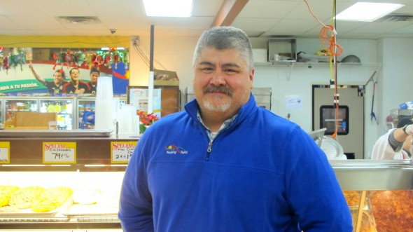 Robert Montemayor, owner of Monterrey Market and president of the South 13th Street and West Oklahoma Avenue BID, is invested in bettering his community. (Photo by Molly Rippinger)