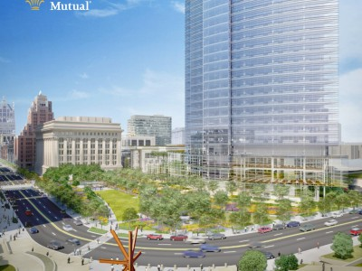 Northwestern Mutual joined by five dozen Milwaukee and Wisconsin-based companies for downtown development