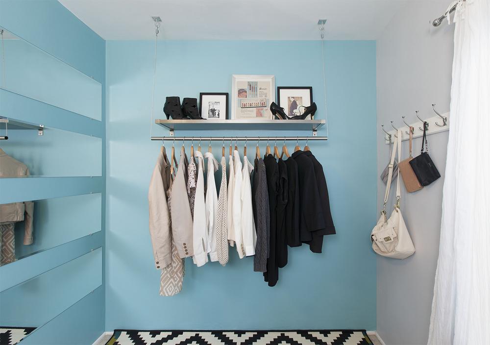 Closet by Jerrica Zaric Interior Design.