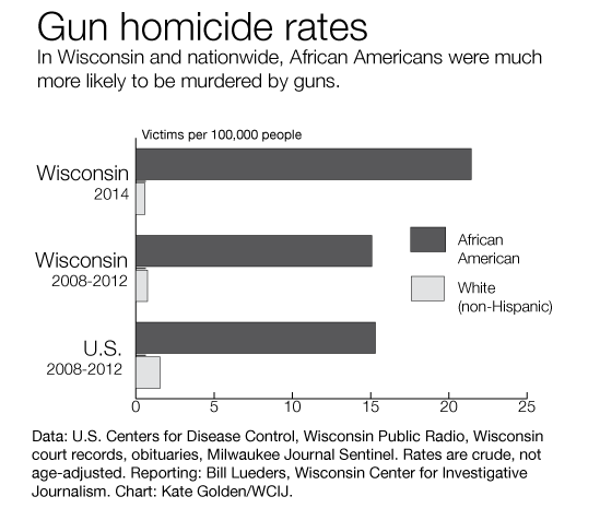 Gun Homicides in Wisconsin