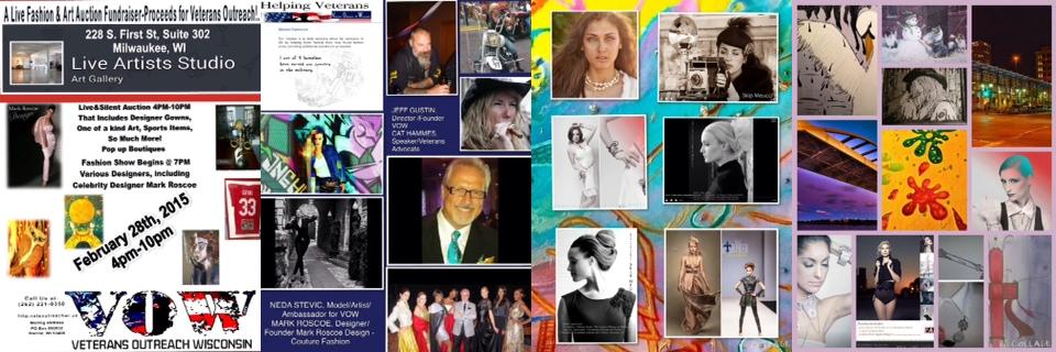 Fashion & Art Auction Benefit Sat., Feb. 28, '15