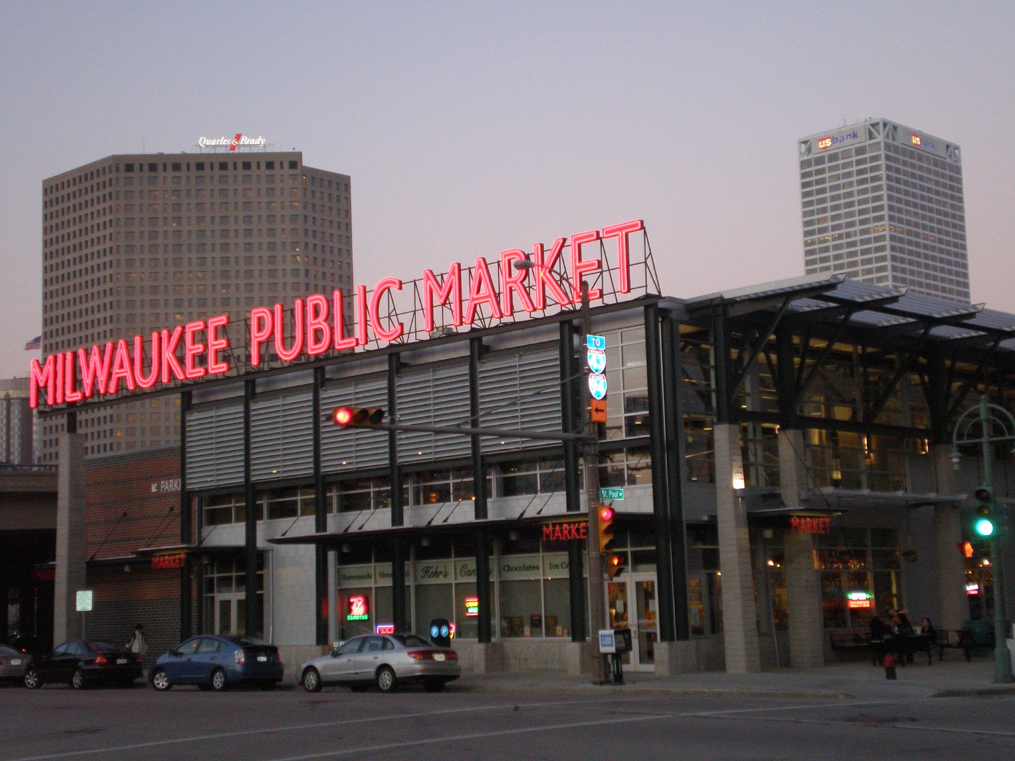 Milwaukee Public Market. Photo by Dave Reid.