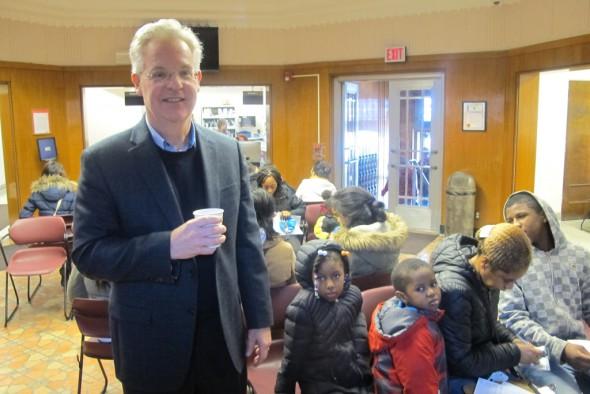 Paul Biedrzycki, director of disease control and environmental health for the Milwaukee Health Department, said a full measles vaccination confers lifelong immunity. (Photo by Edgar Mendez)