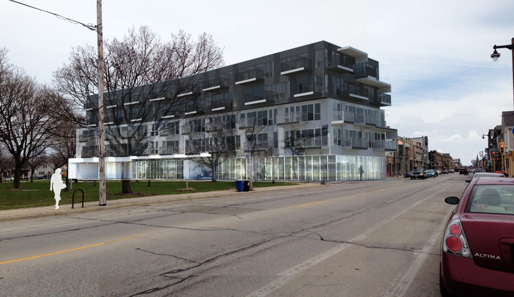 2202-2206 S. Kinnickinnic Ave. Rendering.