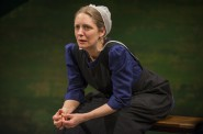 Deborah Staples in Milwaukee Repertory Theater's 2014/15 Stiemke Studio production of The Amish Project. Photo by Michael Brosilow.