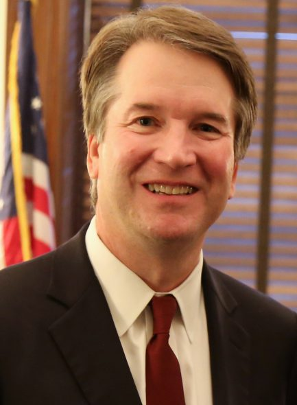 Brett Kavanaugh. Photo is in the Public Domain.