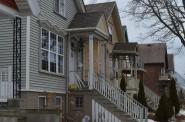 Houses along N. Fratney St.