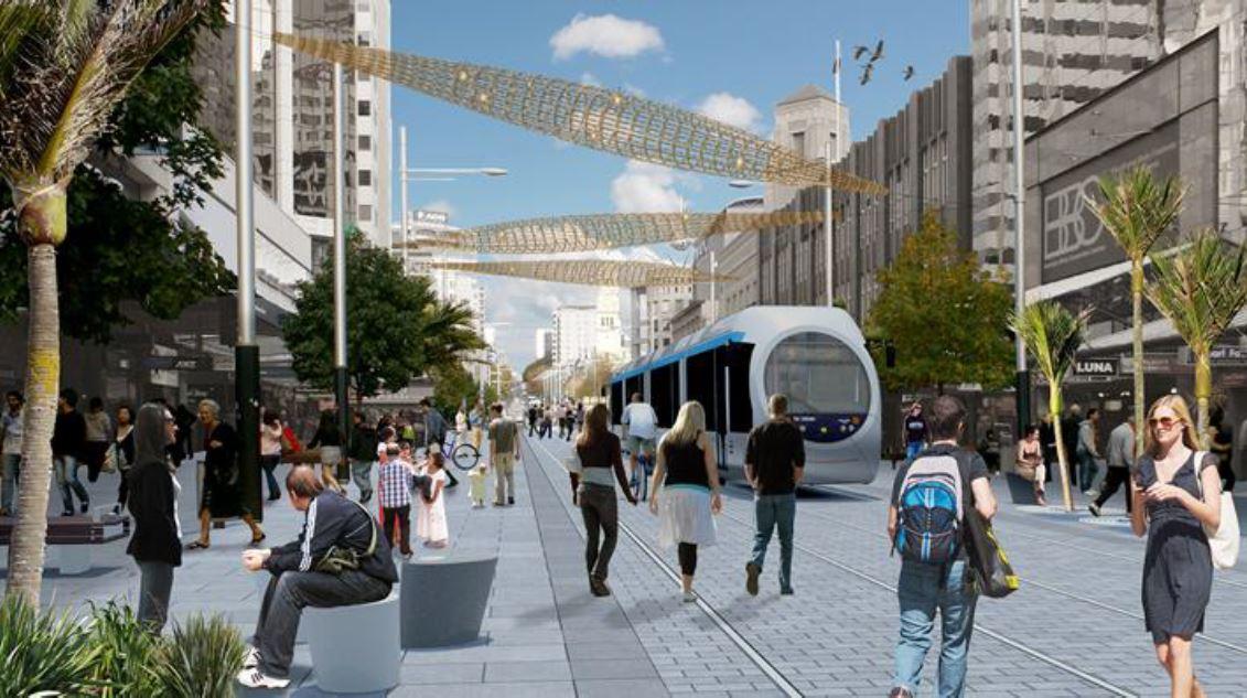 Future Queen Street Tram.