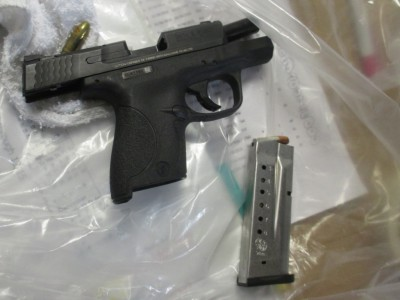 HOC Finds Stolen Gun in Laundry Delivered from County Jail