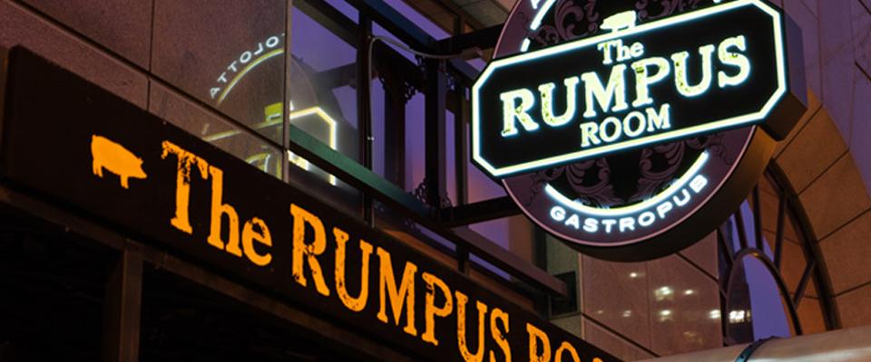 Rumpus Room Milwaukee Menu