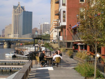 Freshwater Mecca: Milwaukee's Riverwalk Vs. San Antonio's